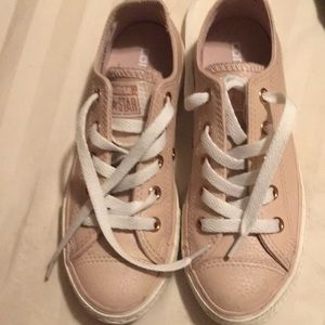 Kids girl converse pink cute color